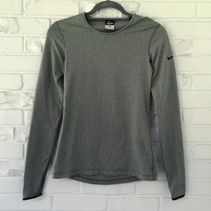 Nike Pro Thermal Compression Long Sleeve Tee Sz S